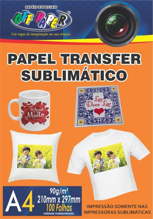 Papel Transfer para Sublimacion – A4 con 100 hojas