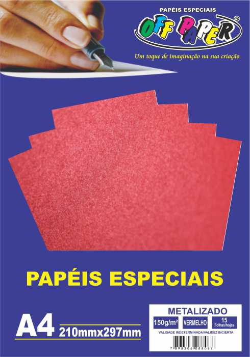 Papel Metalizado