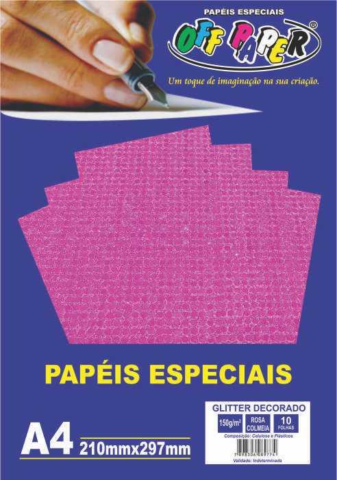 glitter decorado rosa