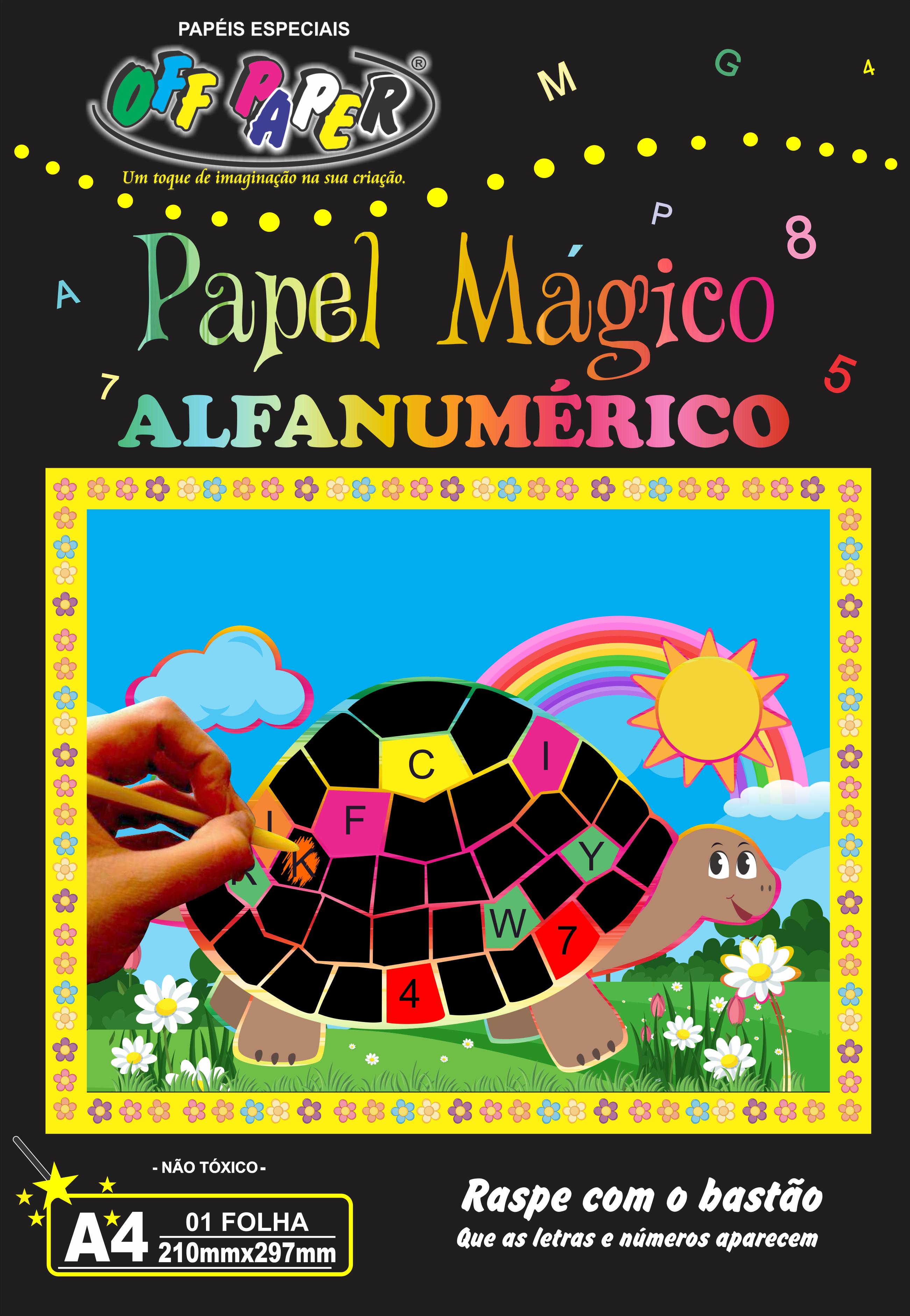 Papel Mágico Alfanumérico
