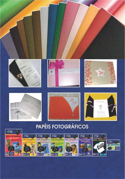 Papel Metalizado A4 - Verso