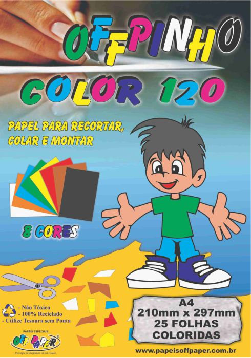 Papel Offpinho Color - 120