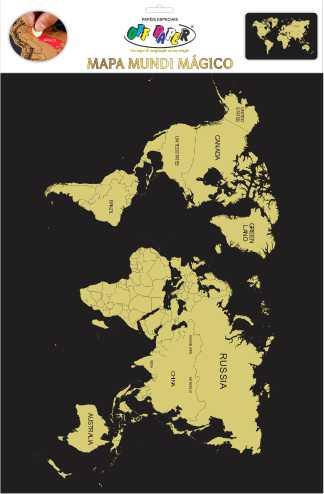Mapa Mundi Mágico