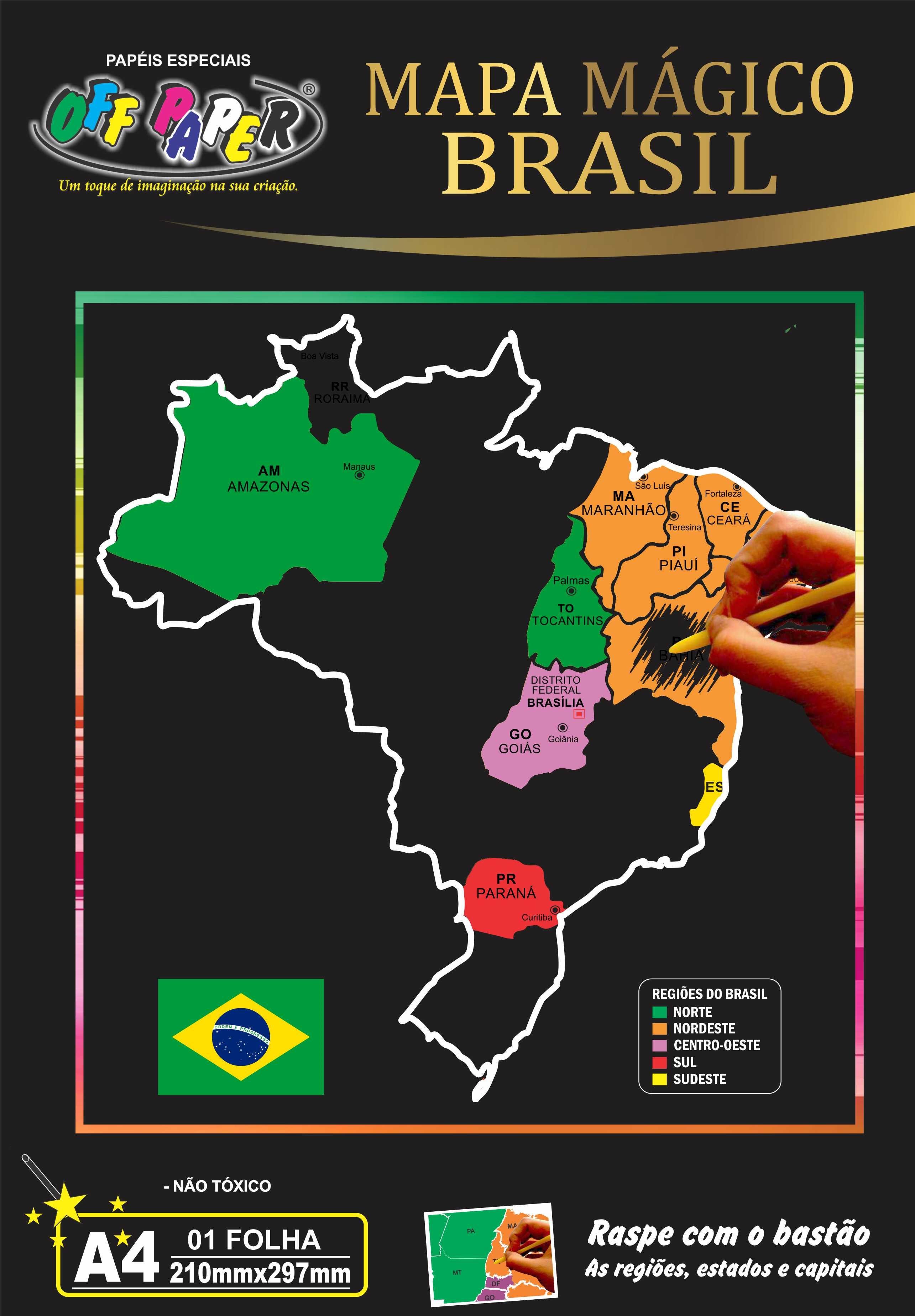 Mapa Mágico Brasil