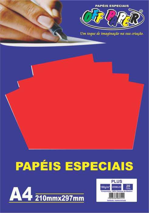 Papel Plus 180g/m²