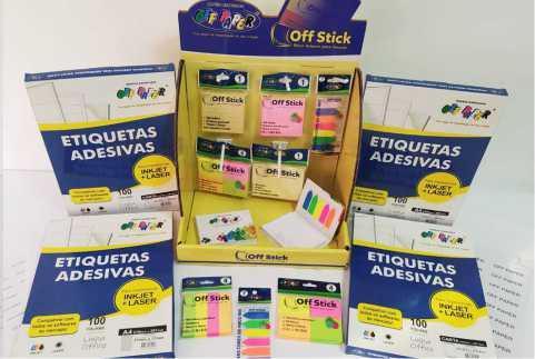 Etiquetas Adesivas e Off Stick