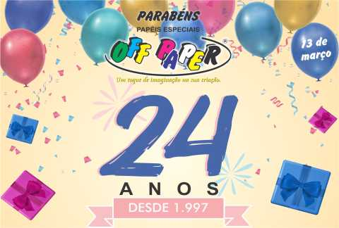 24 Anos OFF PAPER